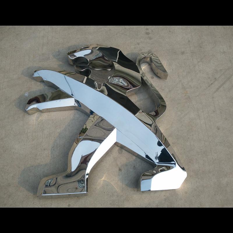 展示设计 三维雕刻 > 利昶 不锈钢三维铣发光字/不锈钢发光字/立体字
