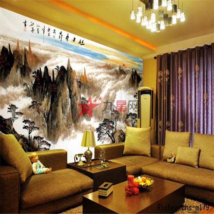 利昶uv平板打印/背景墙//沙发背景墙/电视背景墙