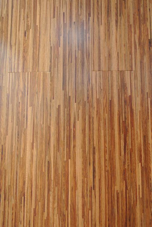 德泽地板 花梨木细拼实木复合地板(柚木色) 1210*167*