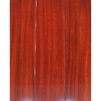 y-o4(亮光红) 圆盘豆 天鹰现代格林地板 实木地板