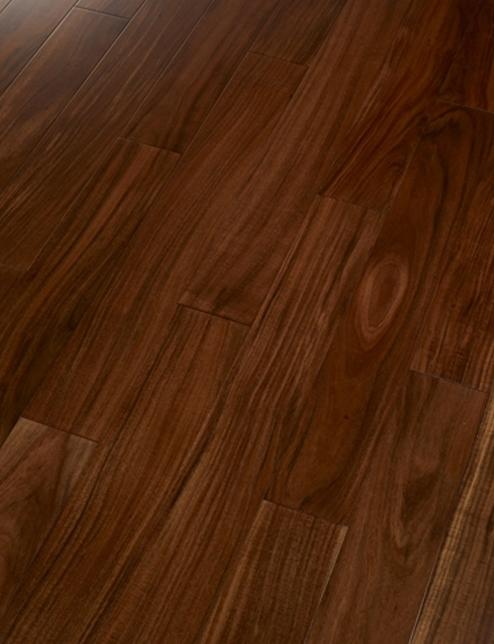 誉丰地板 相思木(咖啡色)实木地板