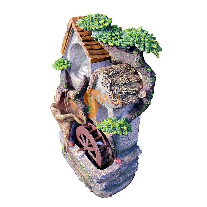 欧式喷泉流水风水轮+风水球家居装饰工艺品