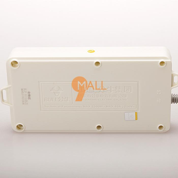 电工电气 接线板 > 公牛(bull) gn-109k 10m拖线板   正常拔插5000次