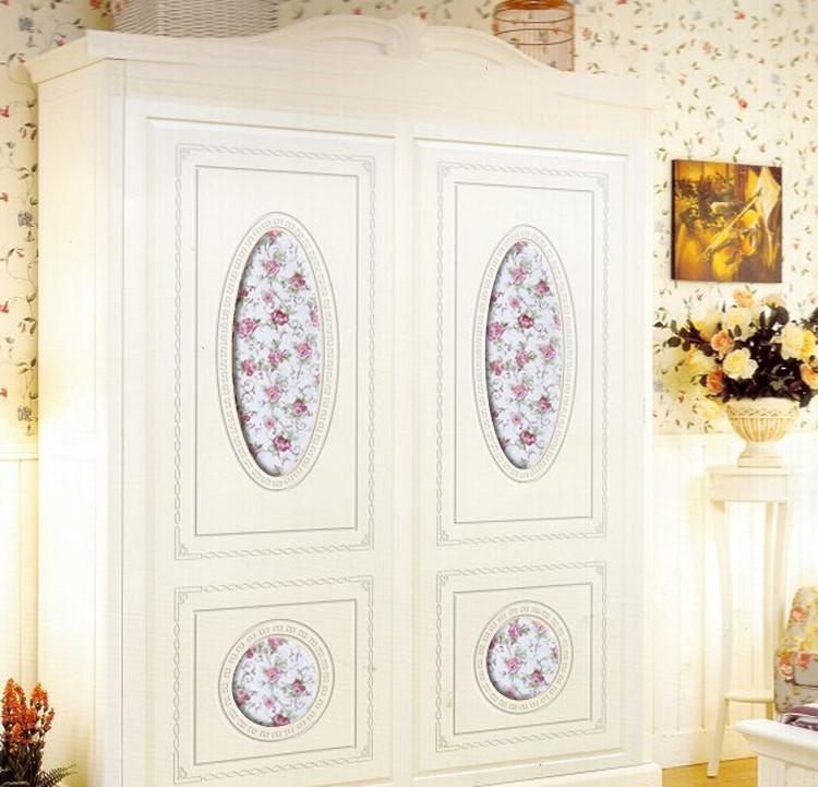 壁橱式移门 > 吸塑衣柜门定做雕刻移门定制欧式