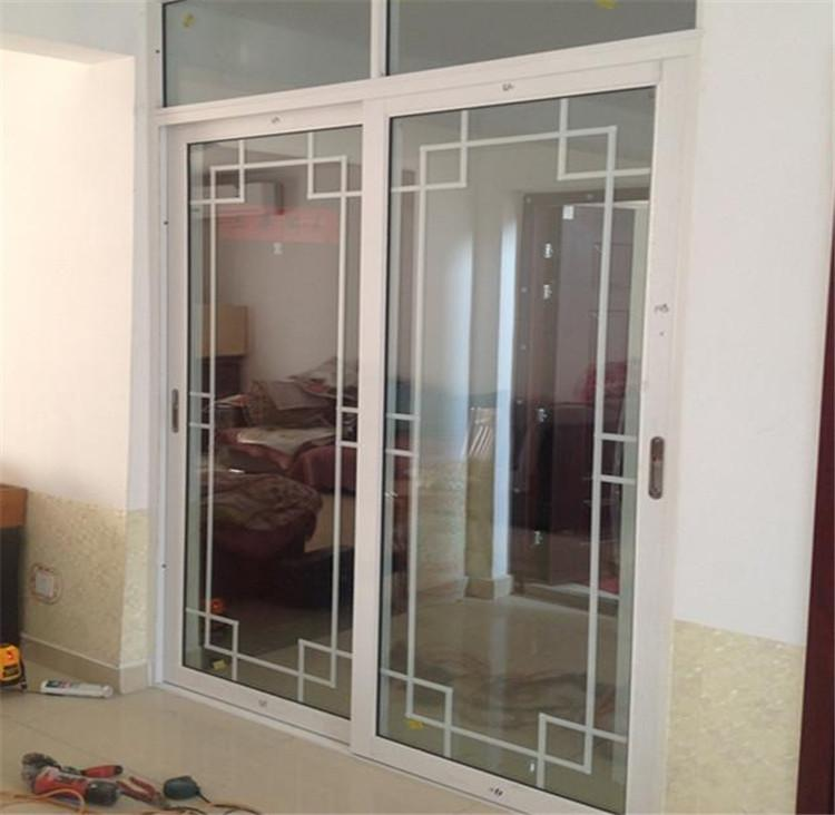 客厅隔断推拉门阳台钛镁合金移门中空双层钢化玻璃烤漆卧室门订做
