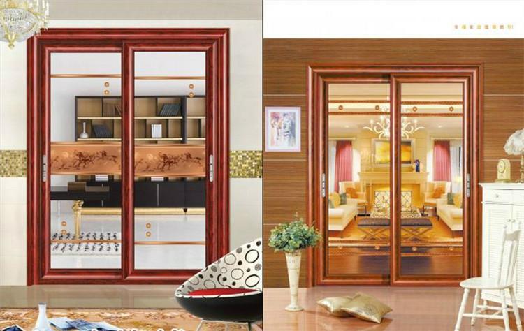 客厅隔断门 钢化玻璃推拉厨房门