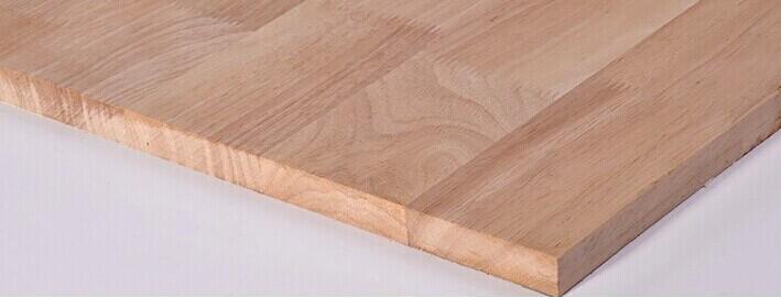型号:qy-003      尺寸:1220*2440*25      材质:橡胶木