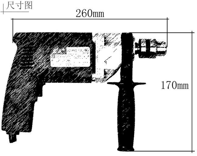 东成手电钻j1z-ff02-10a