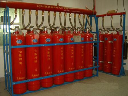 5 zq4.2七氟丙烷气体自动灭火系统