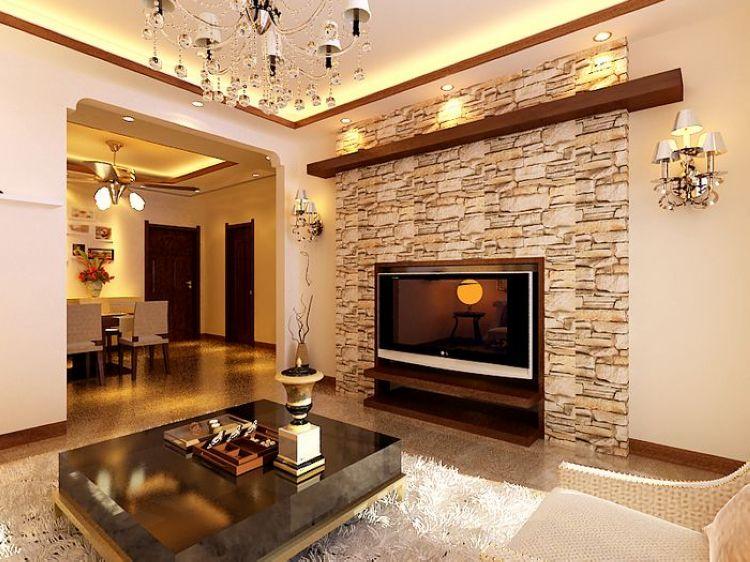 室内装饰:背景墙,火炉图片