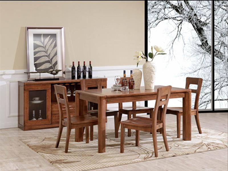 澳凡家具 100%纯南美胡桃木 木椅h108
