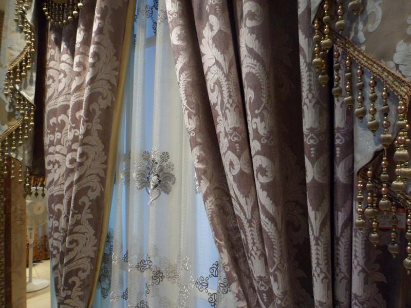 豪华欧式高密度提花窗帘