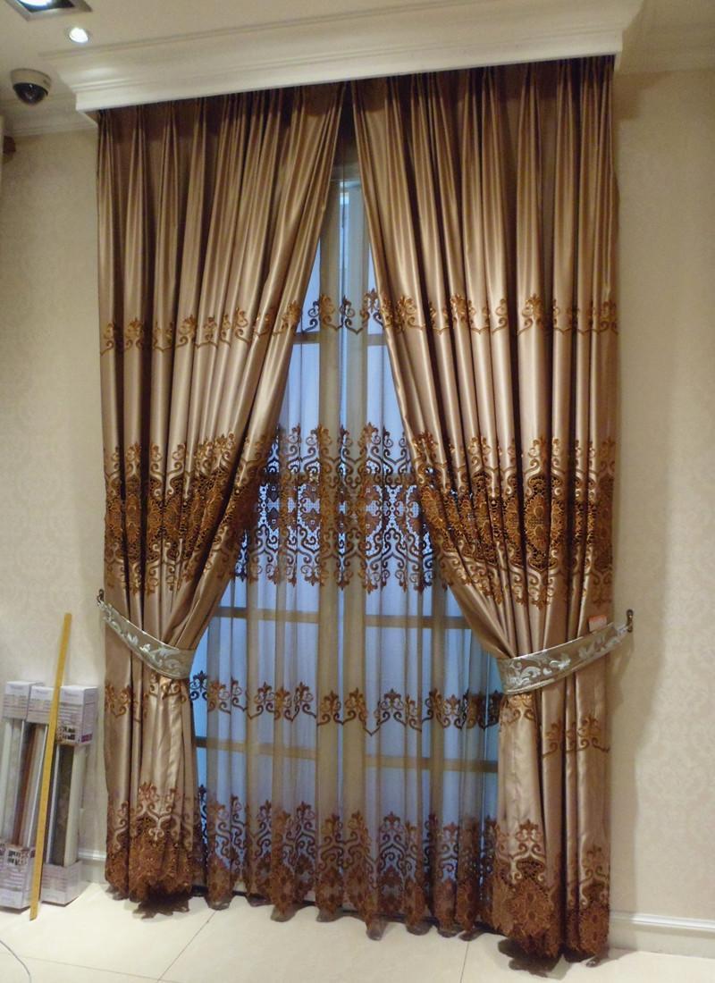 手工编织窗帘图解