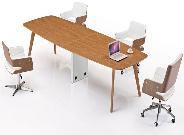明亚办公家具 长方形圆角会议桌 4-6人位