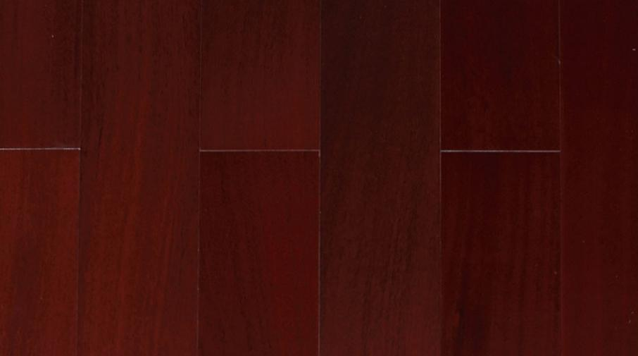 四合地板 多层桃花心木枣红色企口 910*148*12mm