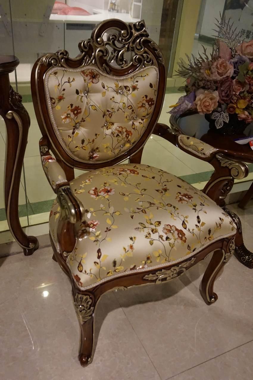 典派家具 欧式家具 休闲椅
