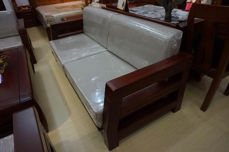 志鹏家具 实木沙发 胡桃木五件套