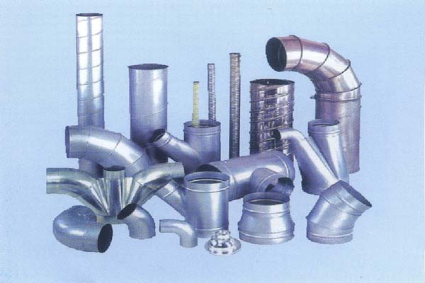 安富 螺旋风管系列 风管及配件