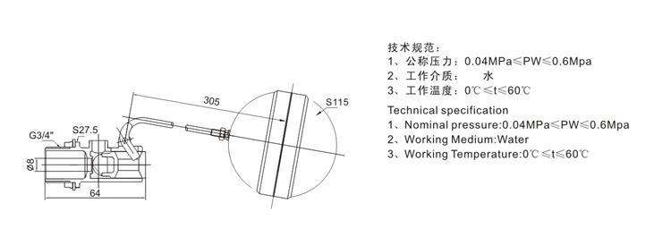 功能及价格比较 塑料浮球阀具有自动开启,关闭管路,以控制水位的功能图片