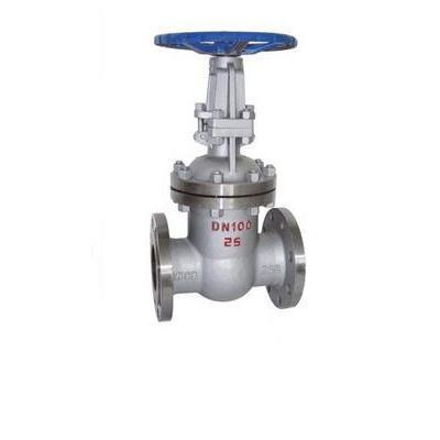 高压法兰连接的闸阀适用于公称压力pn16.0~25.图片