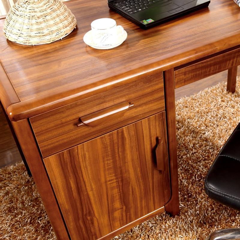 红艺 中式简约实木书桌 学习桌