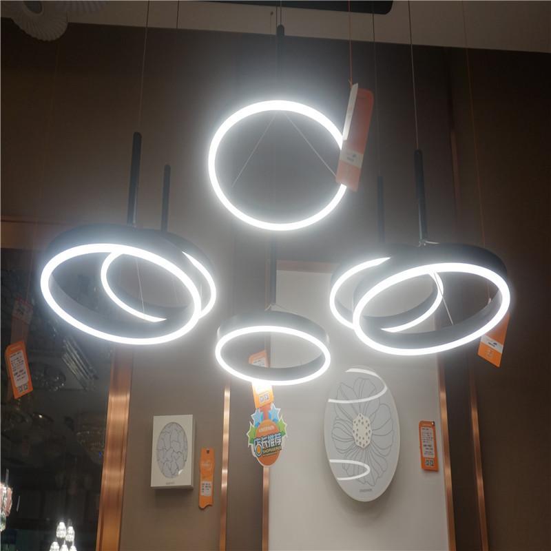 松伟 依云系列 圆环形吊灯